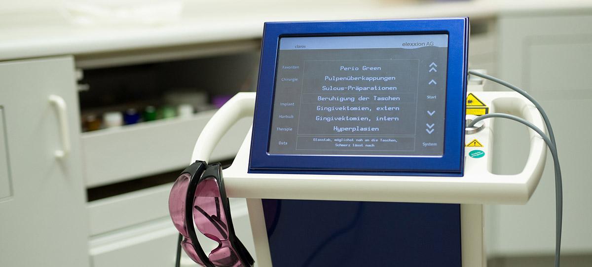 Zahnarz Nürtingen Cerec Behandlungsgerät