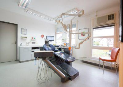 behandlungsraum vom zahnarzt in nürtingen